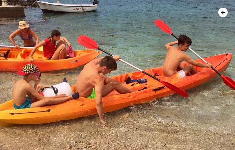Kayaking canoening